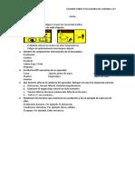 Examen de La Excavadora hidráulica - RESUELTO
