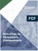 DIRECTRICES_2018_WEB  formulacion presupuestaria como se inscriben los proyectos.pdf
