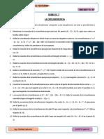 Deber de Matemática La Circunferencia 2018-2019