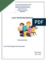 CLUB Diverimaticas, Nicolas Bravo.