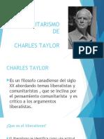 El Comunitarismo de Taylor