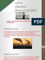 Efectos de La Contaminacion Atmosferica en La Salud