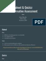 kahoot   quizizz for formative assessment  1