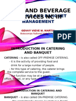Catering &Banquet