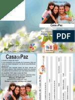 Convite Casas de Paz verso