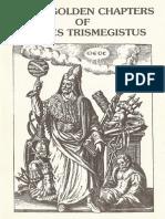 Seven Golden Chapters of Hermes Trismegistus