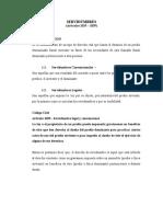 Servidumbres (Artículos 1035 - 1039