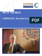 Catedra Carlos Llano eBook Liderazgo Del Remo a La Partitura