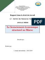 Rapport Droit