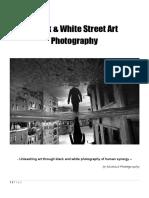 Black White Street Art Photography