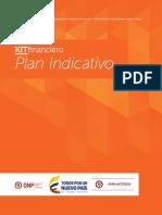 Instructivo - Plan Indicativo
