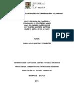 Supervision y Regulacion Finaciera de Colombia