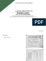 Philidor - Suite 11