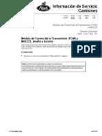 Mack Módulo de Transmicion Diseño y Función