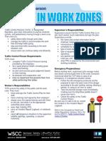 WSCC Safety Bulletin - Traffic Control Person Final