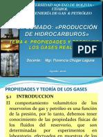 Tema 4 - Propiedades de Gases Reales - Udabol