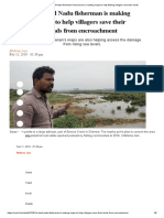 How a Tamil Nadu Fisherman Saravanan is Creating Maps to Help Fishing Villages Save Their Lands