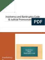 IBC and Judicial Pronouncements india