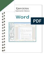 Ejercicios Word 1era Parte