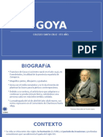 Goya- Parcial de Arte