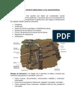 Riesgos en La Minería Subterránea y Sus Características