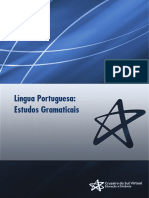 Língua Portuguesa Estudos Gramaticais