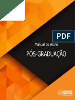 Manual do aluno - Pós Graduação