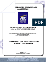 Yucumo - San Borja