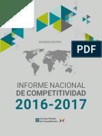 CPC INC 2016 2017 ResumenEjecutivo