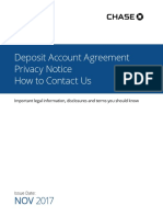 Chase Agreement