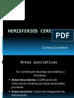 Hemisferios cerebrales - Corteza cerebral (1).pptx