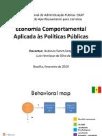 ENAP Programa - Economia Comportamental = Aulas 4.2 e 5