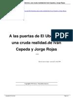 A Las Puertas de El Ub Rrimo Una Cruda Realidad de IV n Cepeda y Jorge Rojas a9878