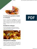 Cinco Recetas Cochayuyo -comida chilena
