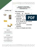 Anna Catalina Lopez Gil Aspirante a Personeria Estudiantil 2019