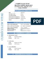 Currículum Vitae 2019