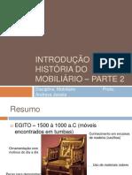 Introdução à História Do Mobiliário