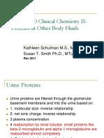 Body Fluid Proteins 2011