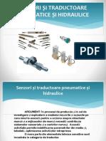 Senzori Și Traductoare Pneumatice Și Hidraulice