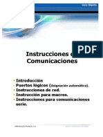 Instrucciones Comunicaciones Omron- GR-min