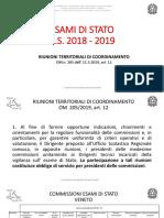 Esamistato 2019 Riunioni-territoriali