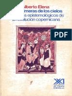 Diaz Elena Alberto - Las Quimeras De Los Cielos - Aspectos Epistemologicos De La Revolucion Copernicana.pdf