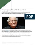 Noam Chomsky, der Sprach-Erklärer und Welt-Intellektuelle wird 90 _ Bücher _ DW _ 07.12.2018