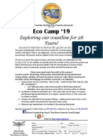 Eco Camp 2019 Registration Form