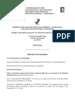 Programa Jornadas Lit. General y Comparada 2011