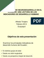 Neurodesarrollo en el Ecuador