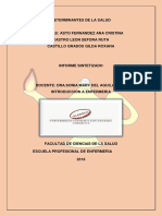 Determinantes de La Salud INTRODUCCION