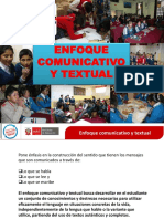 ENFOQUE COMUNICATIVO TEXTUAL 02.ppt