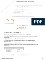Exchange 2013 questions and answers 2308