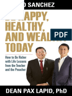 Be Happy Healthy Wealthy SAMPLE